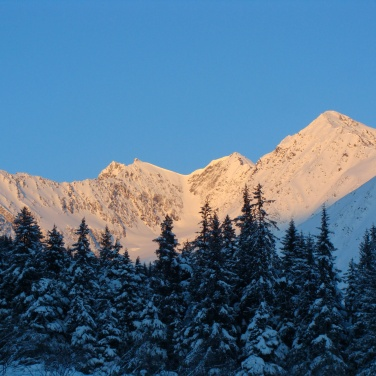 Chugach Mountains, Anchorage Alaska