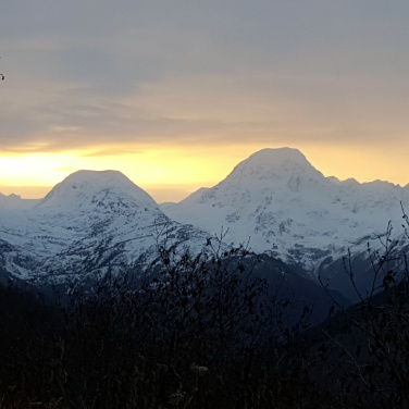 Chugach Mountains near Girdwood Alaska