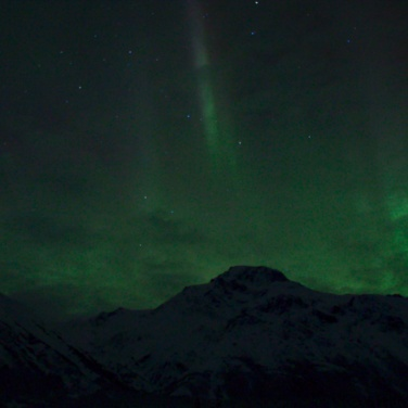 Northern Lights over the Alaska Range